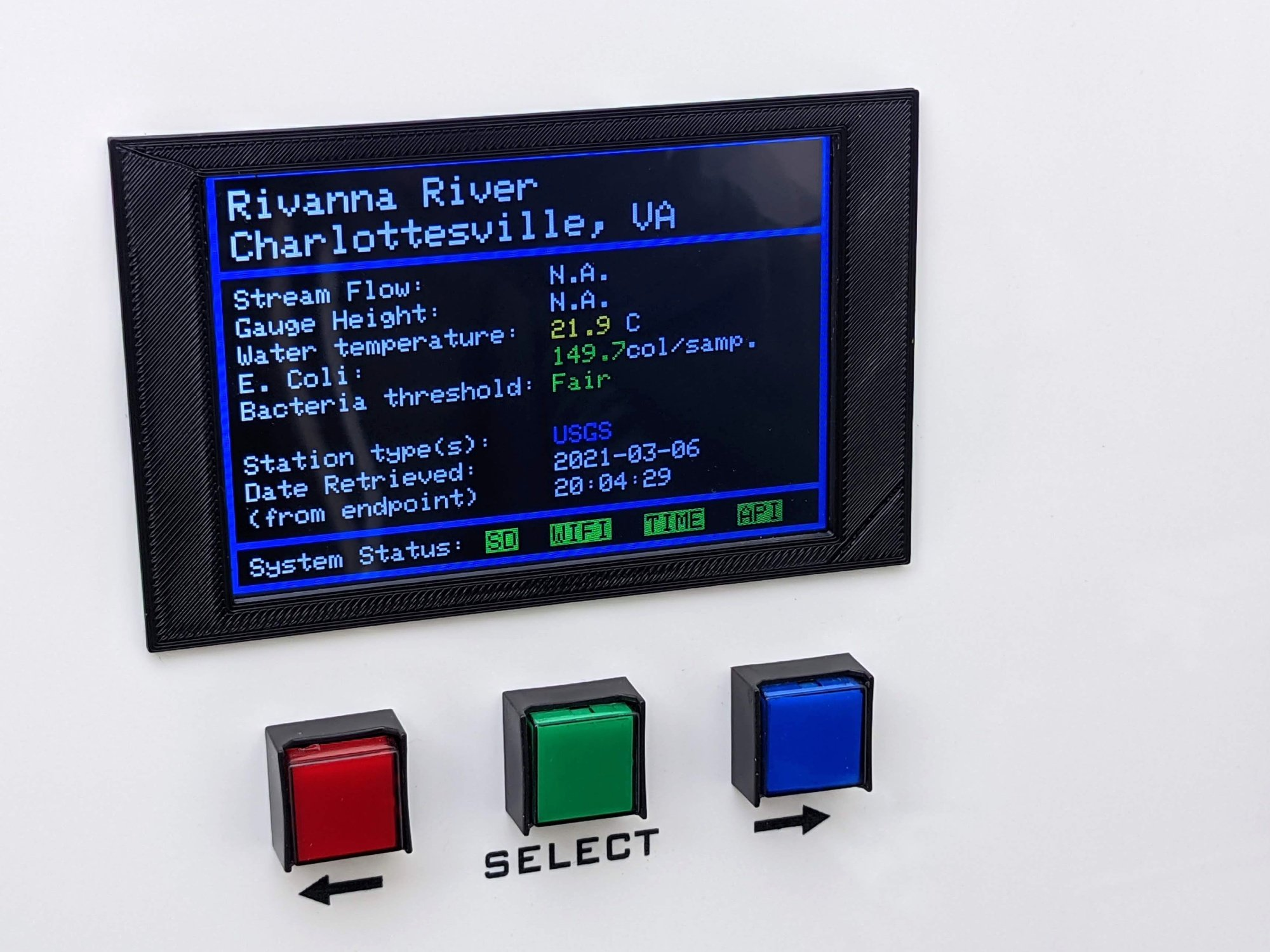 river-conditions-lcd-and-controls